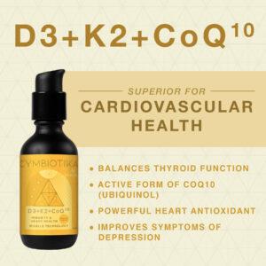 Cymbiotika D3+K2+CoQ10